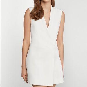 Bcbgmaxazria white mini vest dress -60% off MSRP!